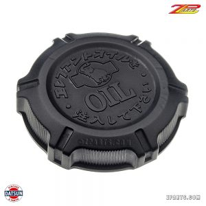 """Elephant"" logo valve cover oil cap for early Z cars.  