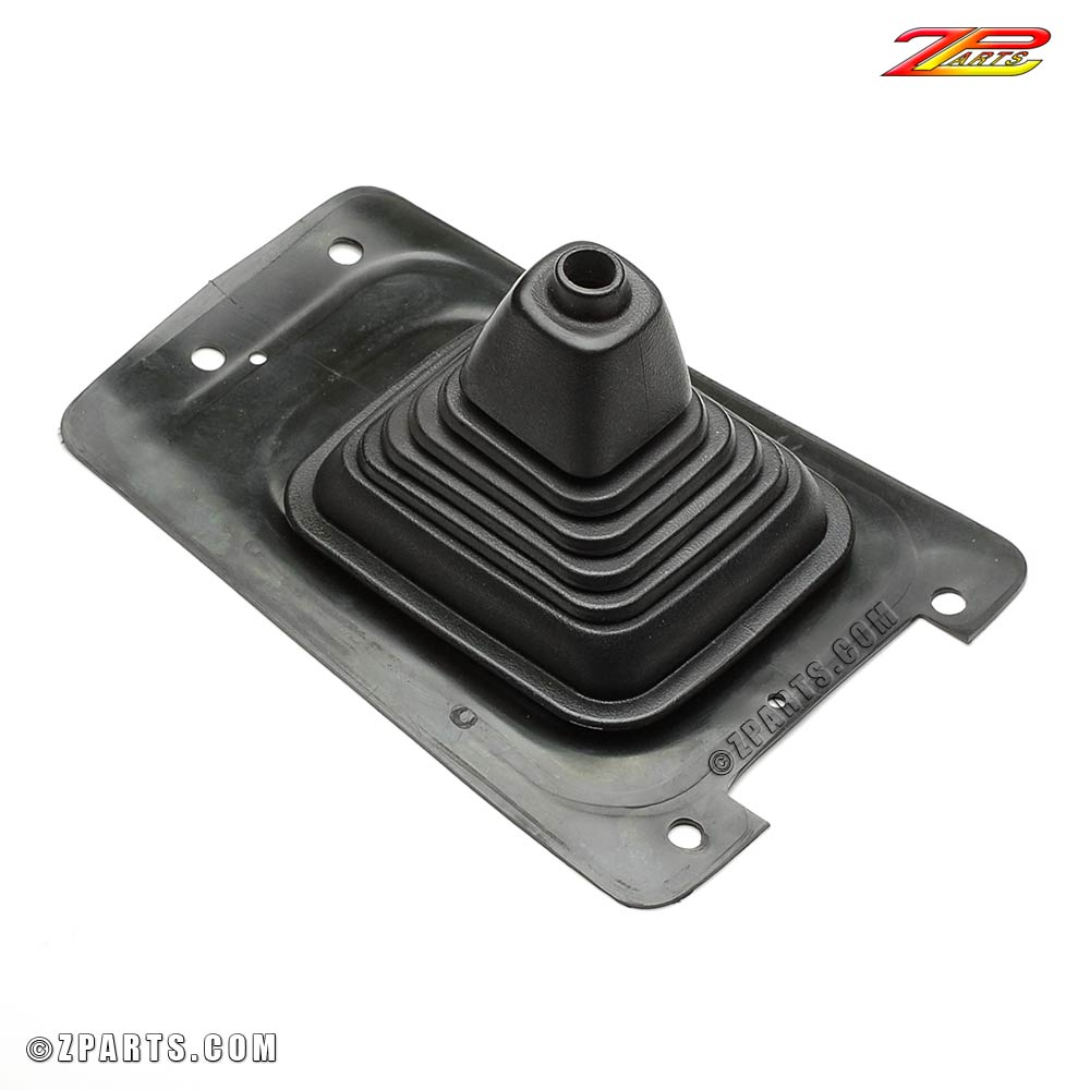 280ZX shift boot, black